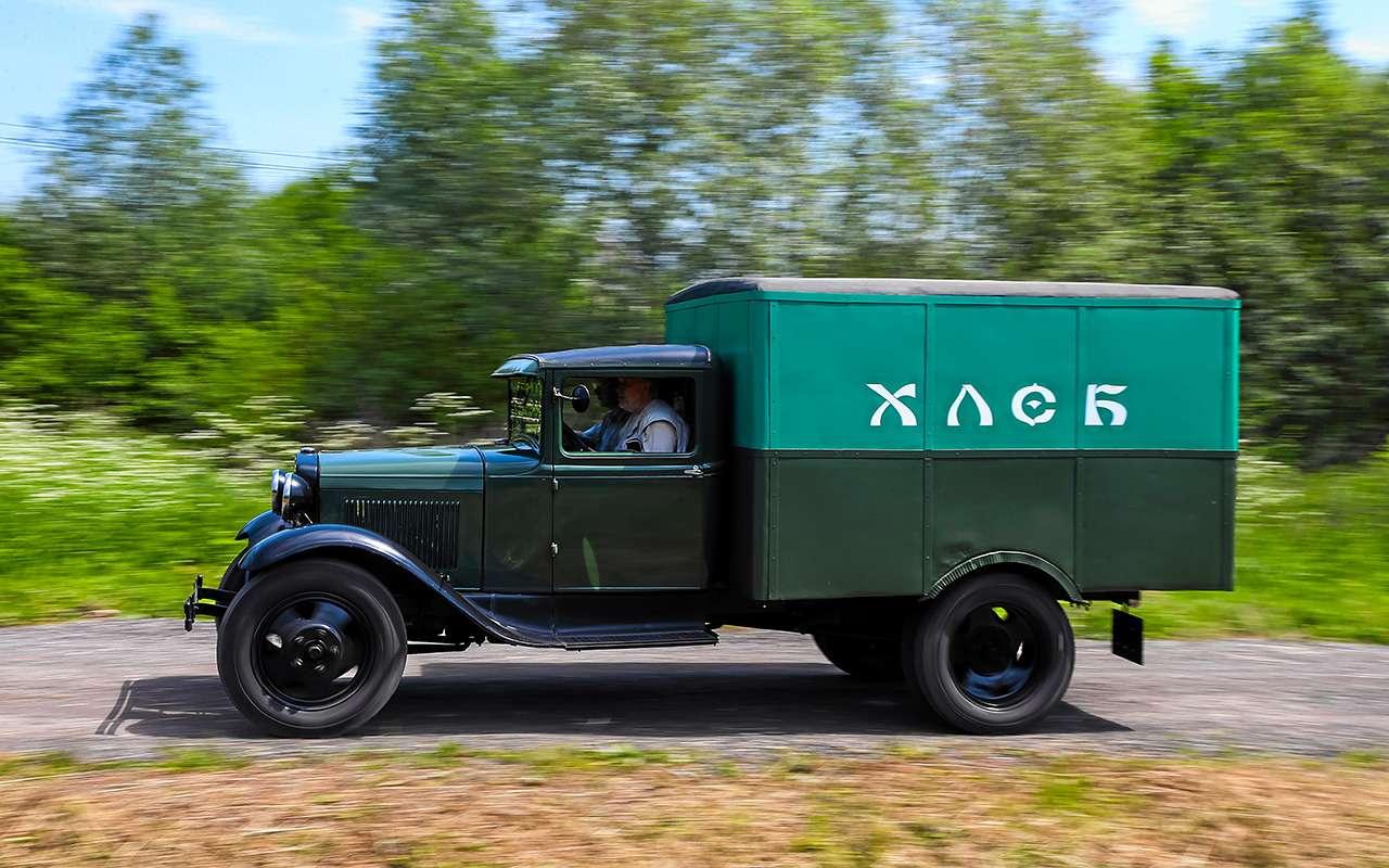 Тотсамый грузовик «Черной кошки»: мини-тест ГАЗ-АА— фото 1163988