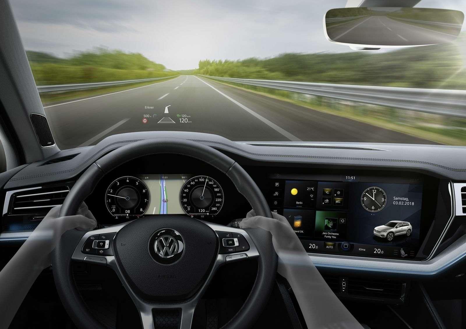 Гудбай, Америка: представлен VWTouareg третьего поколения— фото 856258