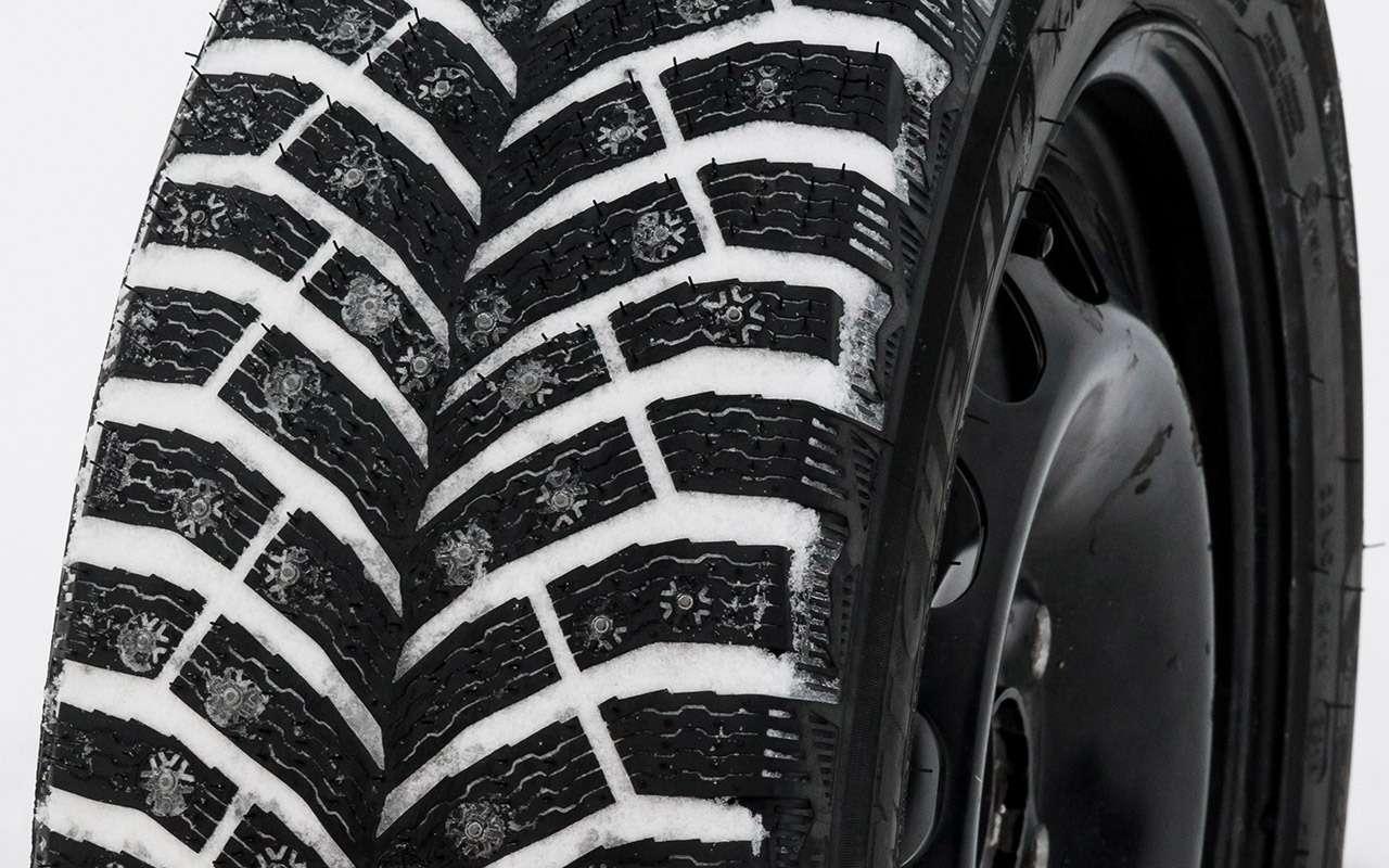Большой тест шипованных шин: дорогие, подешевле и«никакие»— фото 1003233