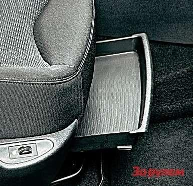 Ящик подсиденьями «Пежо» и«Ситроена»— самый легкий дляпроизводителей способ доказать, что ихавтомобили очень практичные.
