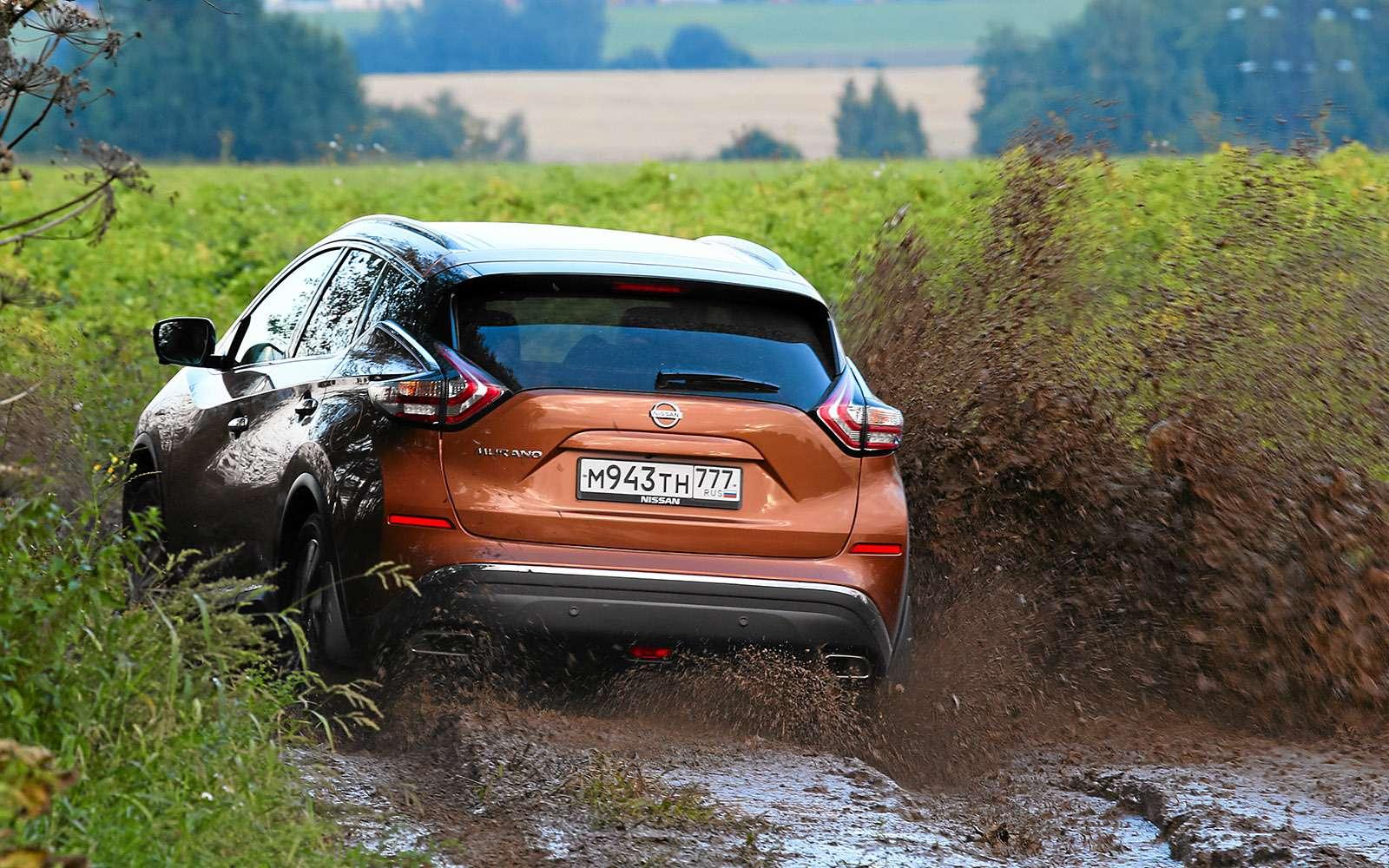 Новый Nissan Murano против конкурентов: длинные рубли— фото 691676