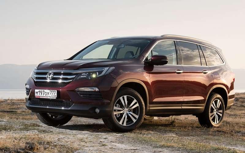 Honda CR-V иPilot выросли вцене