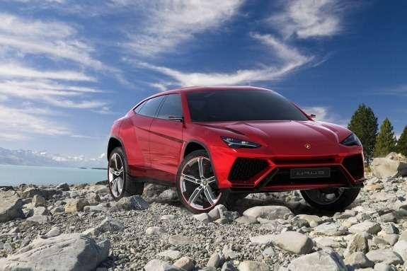Lamborghini Urus Concept side-front view 2