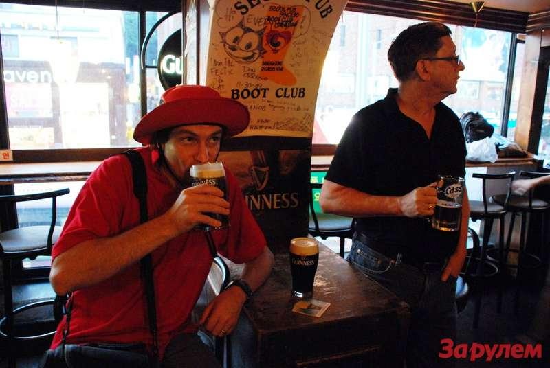 Пиво всеульском пабе очень недешевое, ноочень вкусное!