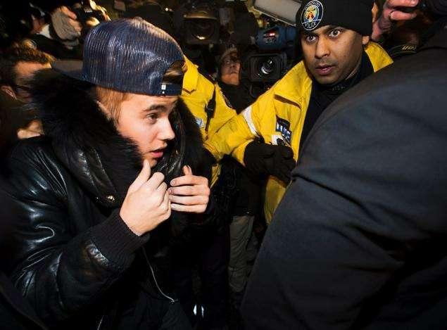 Джастин Бибер навремя сдался канадской полиции