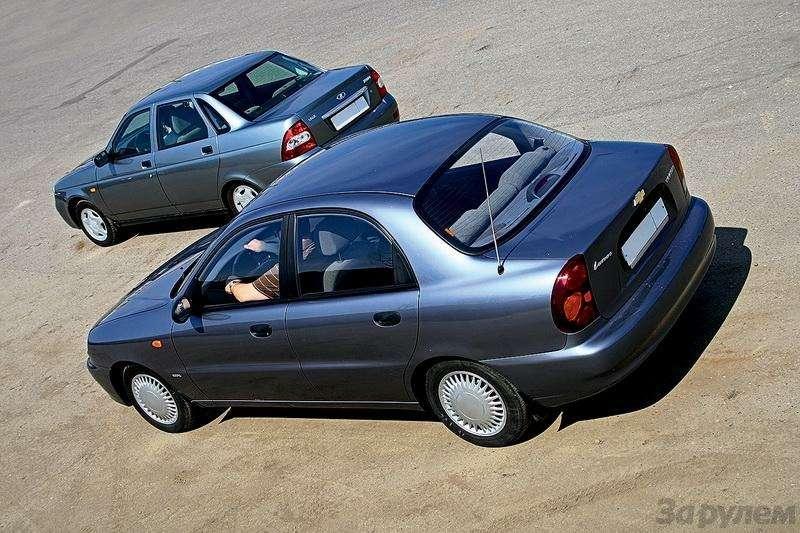 Блицтест Lada Priora, Chevrolet Lanos: Кредит доверия— фото 345008