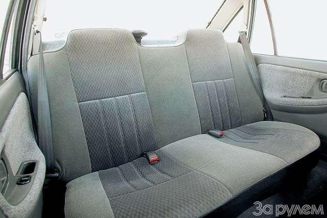 Тест Renault Logan, Lada Kalina, Lada 110, Daewoo Nexia, Chevrolet Lanos. Сделано вСССР— фото 64311