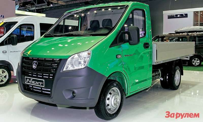 Мировая премьера— «Газель» второго поколения. Первые «нексты» будут сгрузовой платформой. Вэтом секторе коммерческих машин доля ГАЗа наивысшая— 85%.