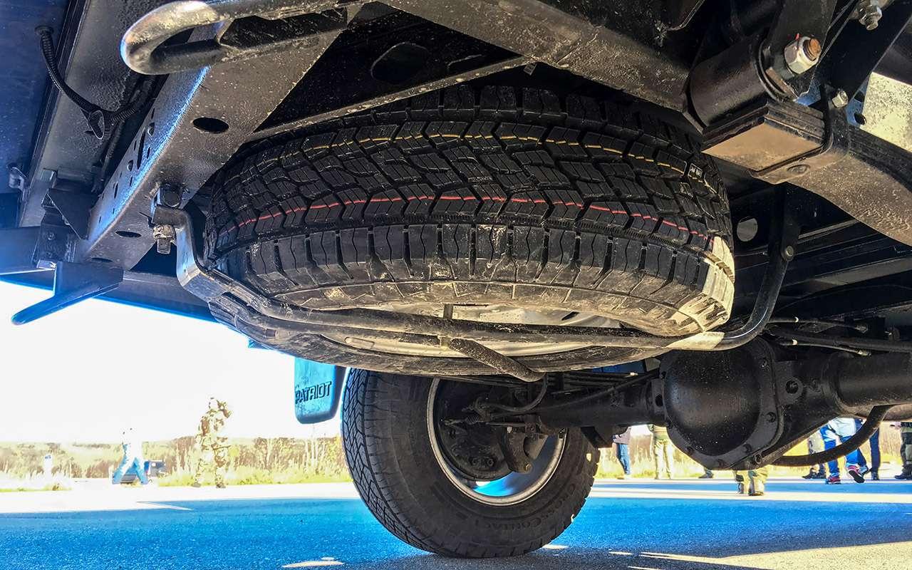 Тест обновленного УАЗа Пикап: мотор новый, косяки старые— фото 918434