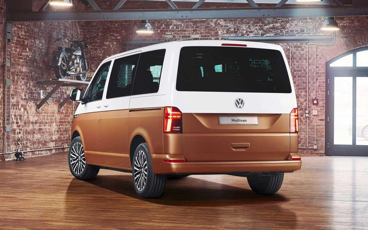 Обновленный Volkswagen Multivan— все изменения— фото 951556