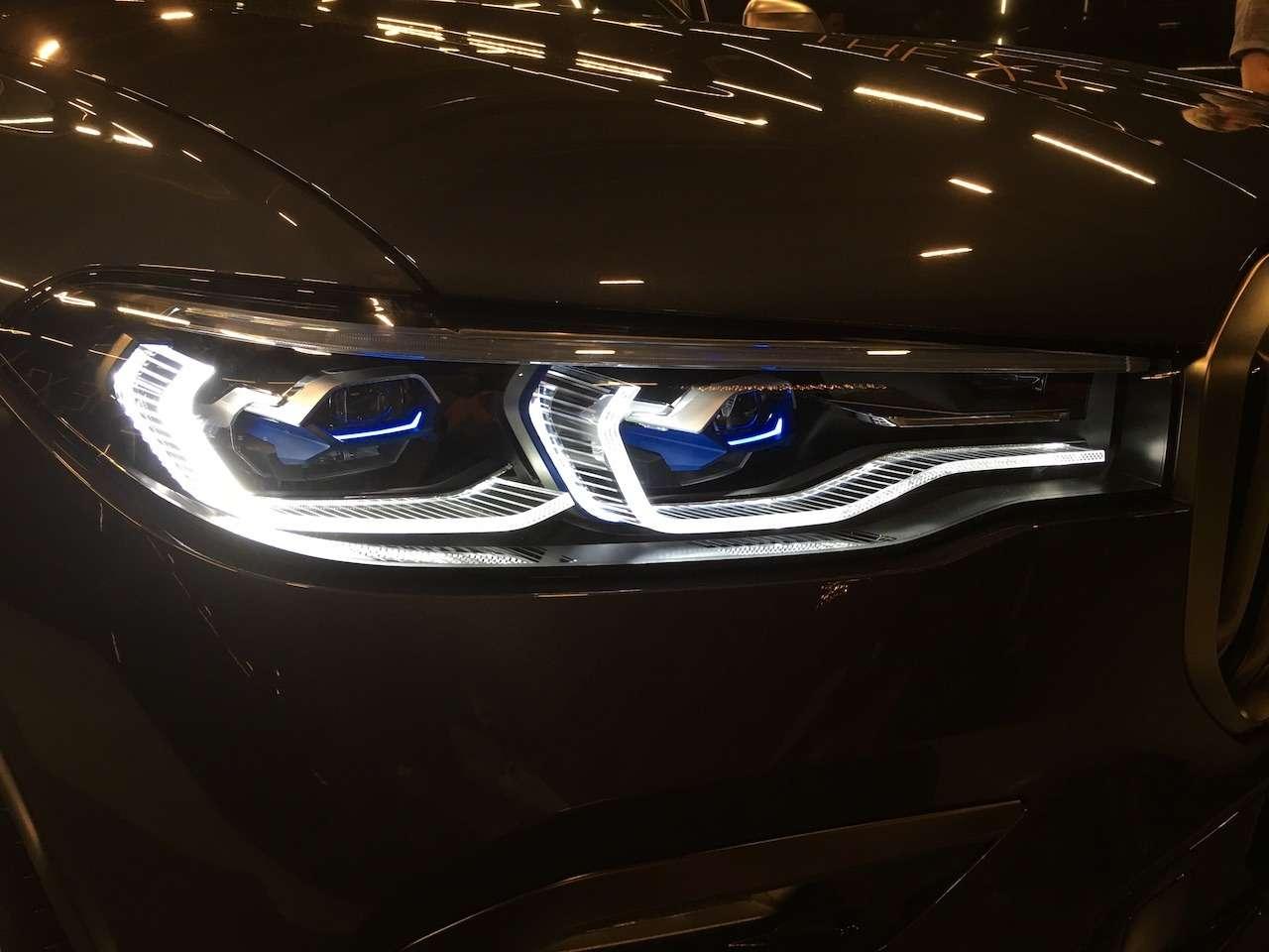 Новейший BMW X7засветился вМоскве— фото 930780
