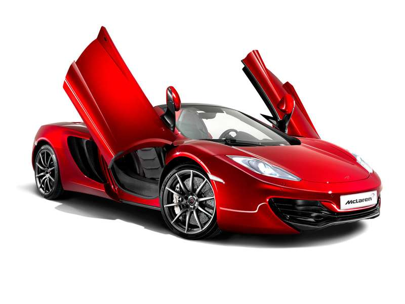 mclaren spider 0016 no copyright