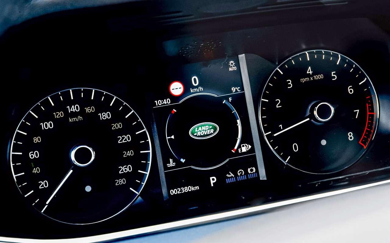Новый Range Rover Evoque: первый тест серийного кроссовера— фото 968506