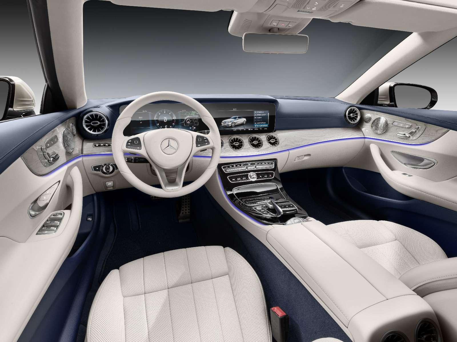 Новый кабриолет Mercedes-Benz E-класса оснастили полным приводом— фото 715157