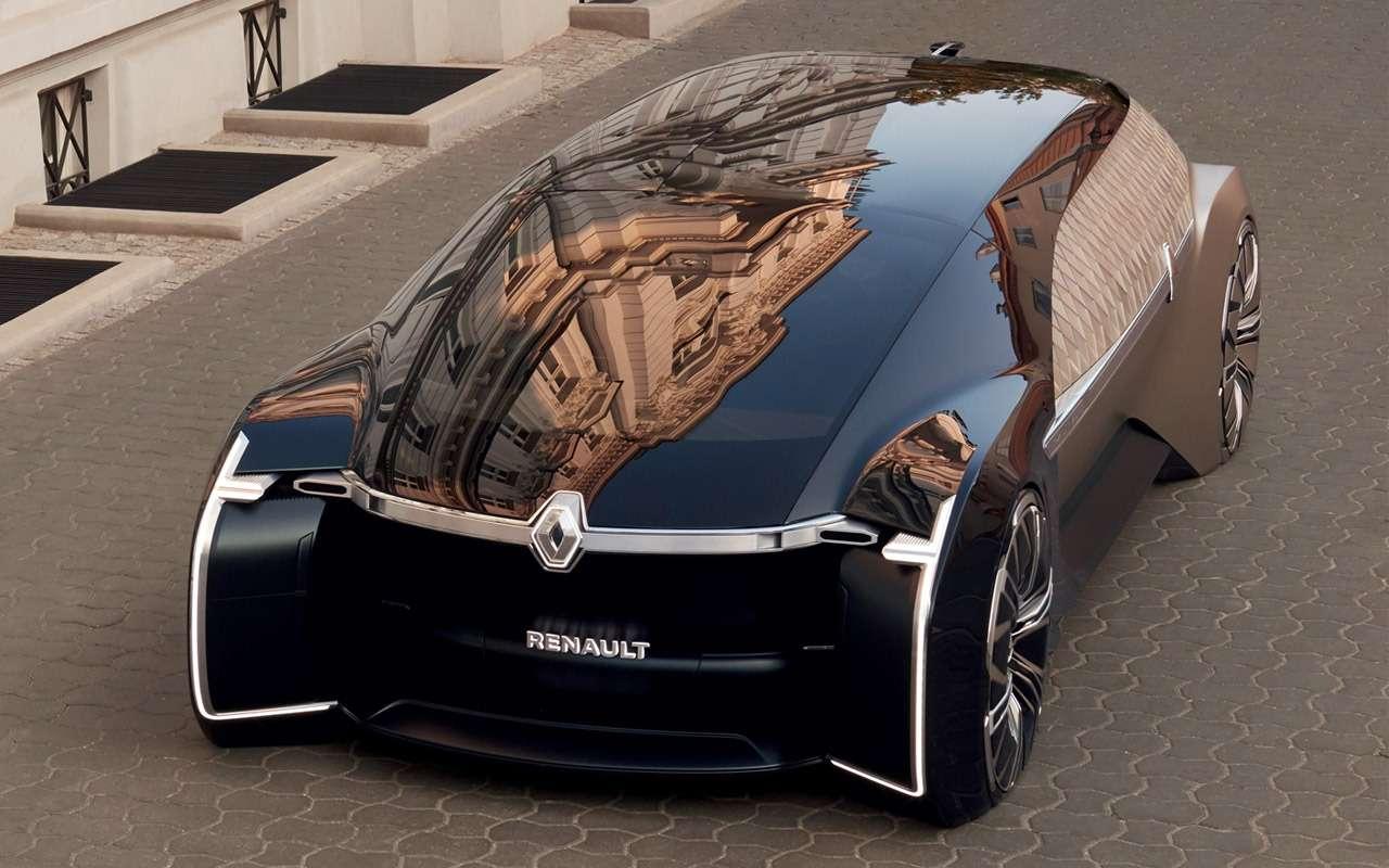 Renault сделала роскошный беспилотник— фото 910300