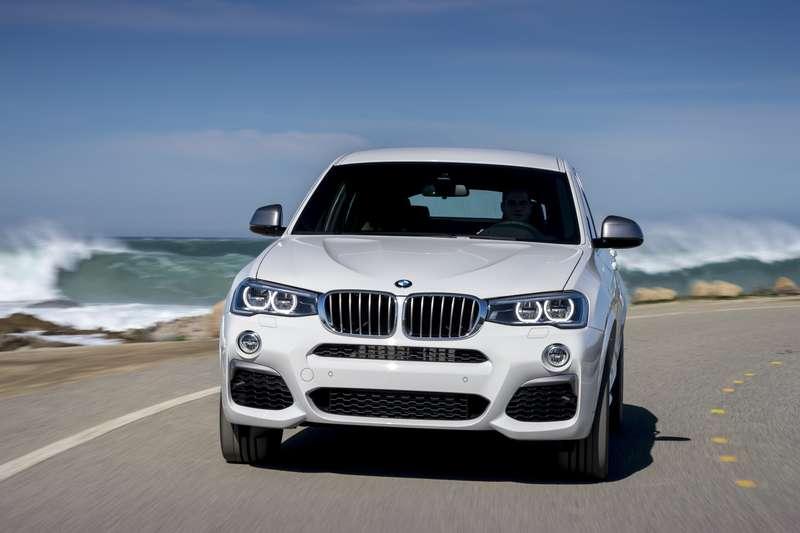 Горячий BMW X4M40i доступен длязаказа вРоссии