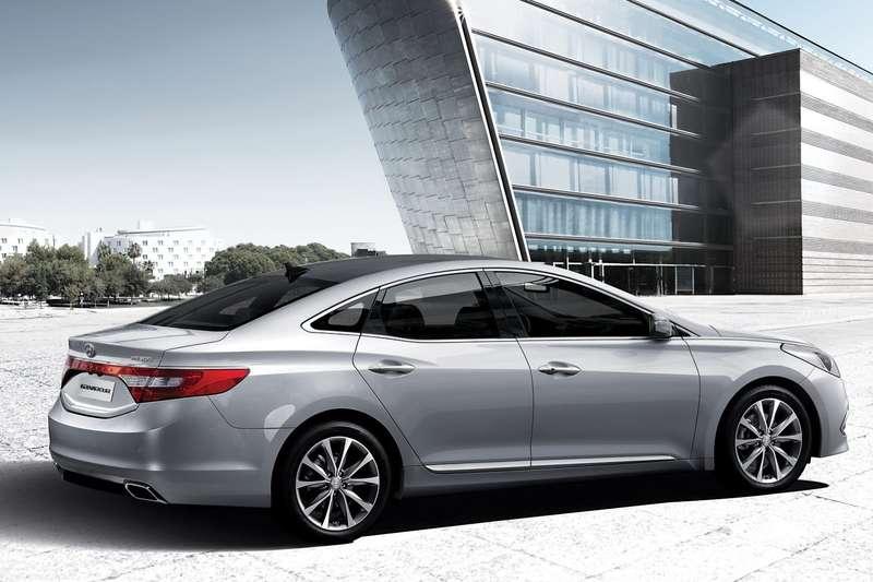 Обновленный Hyundai Grandeur