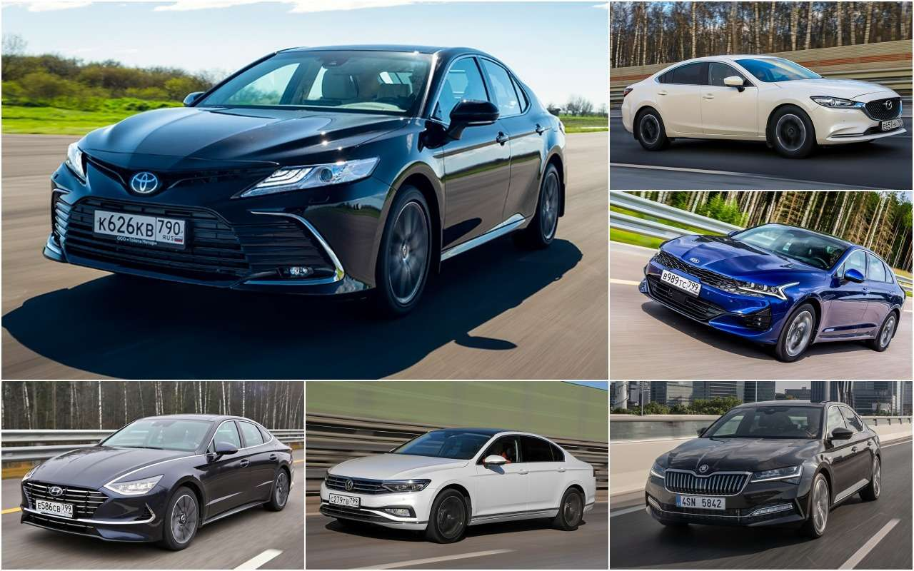Новая Toyota Camry и 5 нормальных альтернатив  вы за какую
