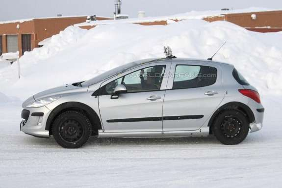 Peugeot 301 test-mule side view