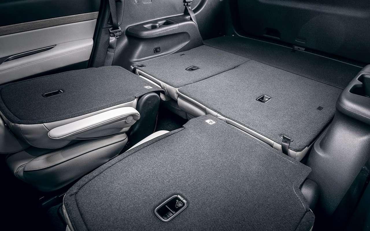 Hyundai Palisade: рассаживаем семерых— фото 1234040