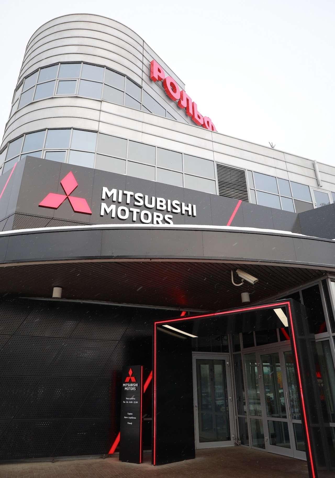 Mitsubishi меняет облик дилерских центров марки— фото 933735