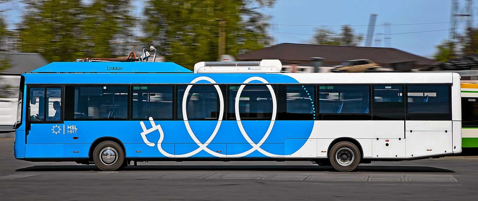 Москва хочет закупить электробусы— тестируем претендента изФинляндии— фото 765265