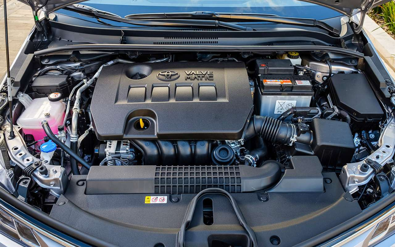 Новая Toyota Corolla: почти Camry (ипоцене тоже)— фото 963265
