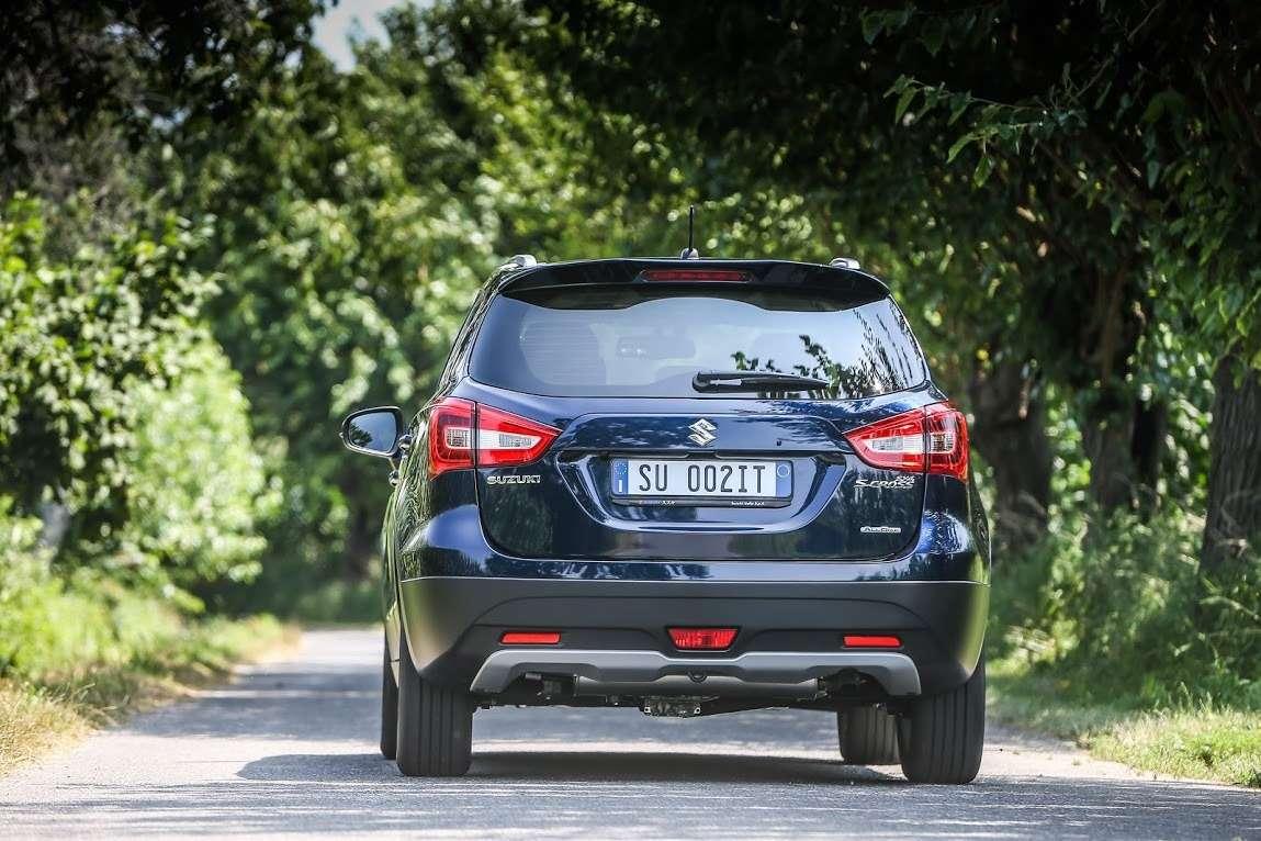 Обновленный Suzuki SX4 доберется доРоссии косени— фото 612070