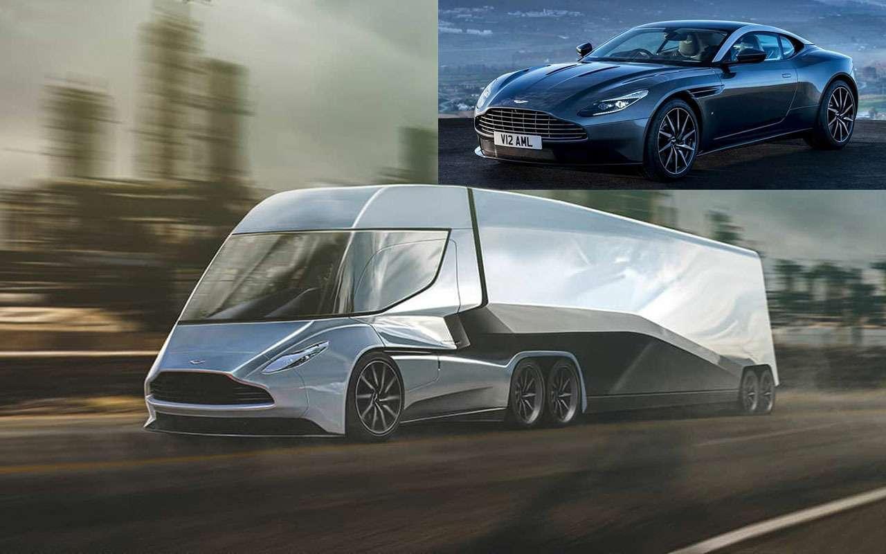 Грузовики Ferrari, Aston Martin, McLaren...— дизайн уже есть!— фото 1165231