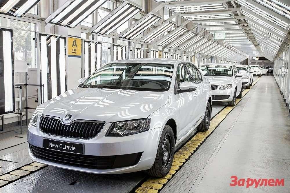 Старт производства новой Octavia вНижнем Новгороде 2