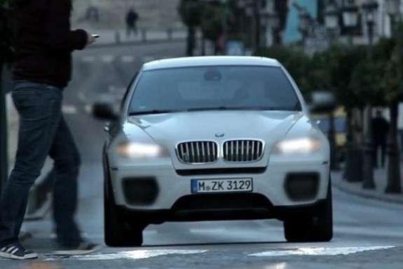 BMWX6M Performance front view