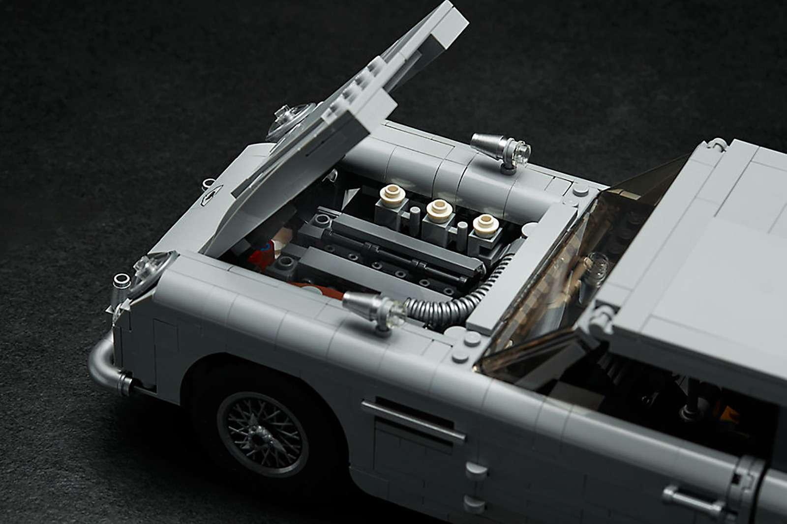 Хочешь машину как у Джеймса Бонда? Собери ее сам! — фото 888208