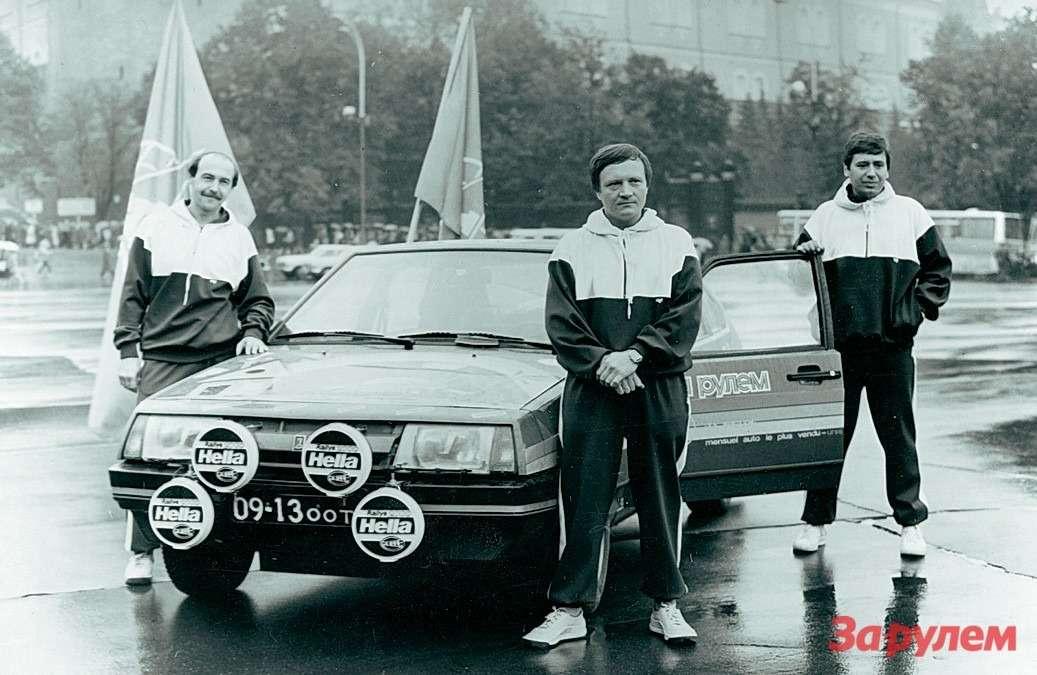 Самарская область: история Lada Samara — фото 263500