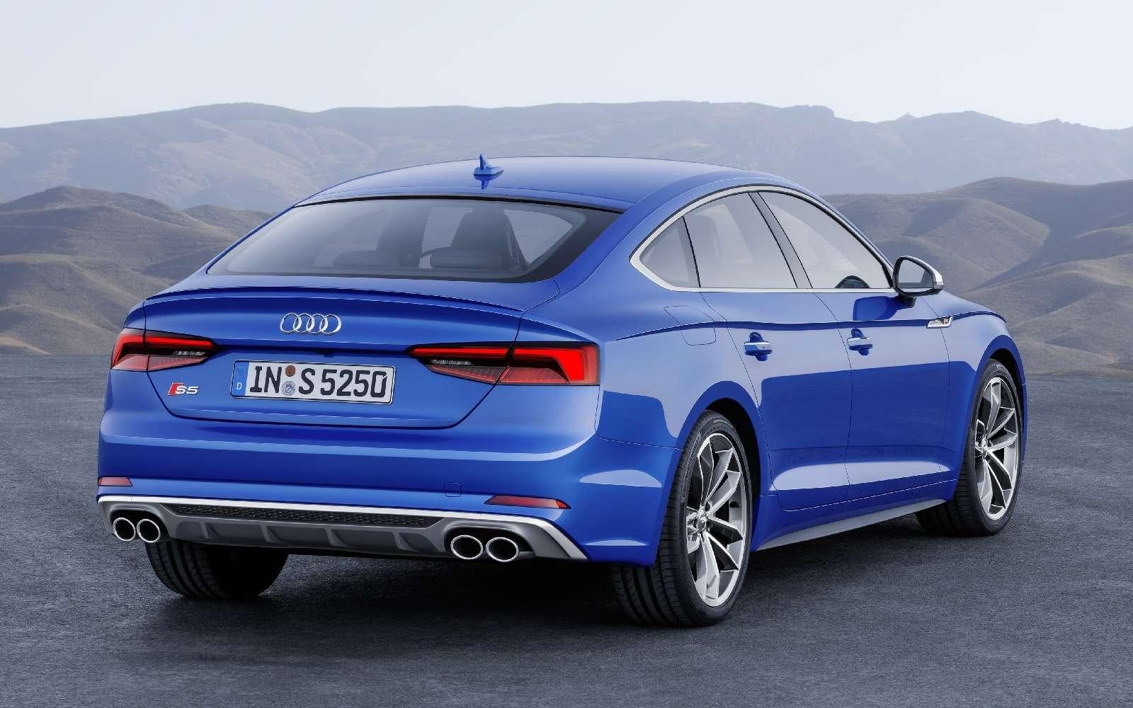 Пятая точка: Audi показала новый A5Sportback— фото 631253