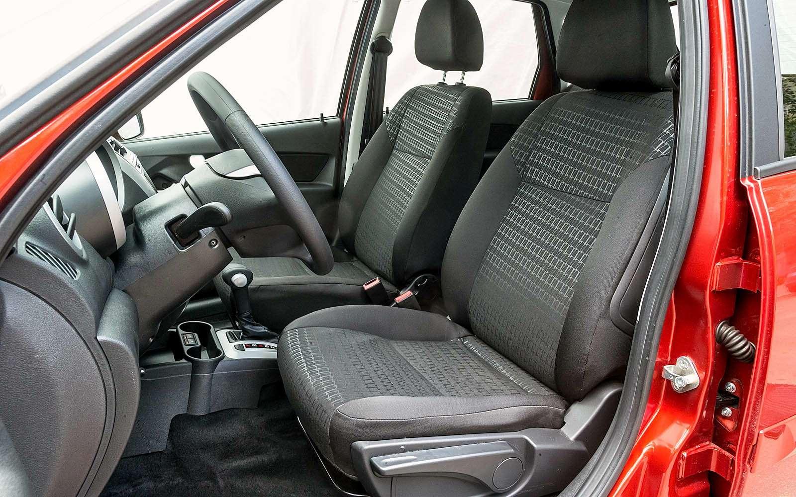 Datsun mi-DO: сравниваем двухлетний хэтчбек сновым— фото 776824