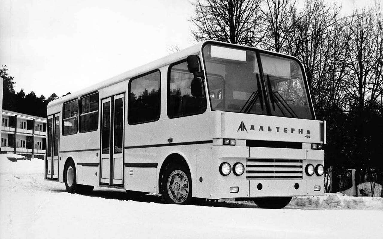 Автобусы изСССР— серийные иэкспериментальные— фото 1035349