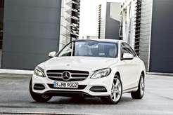 Mercedes-Benz C250 BlueTEC, Avantgarde, Diamantweiss metallic,