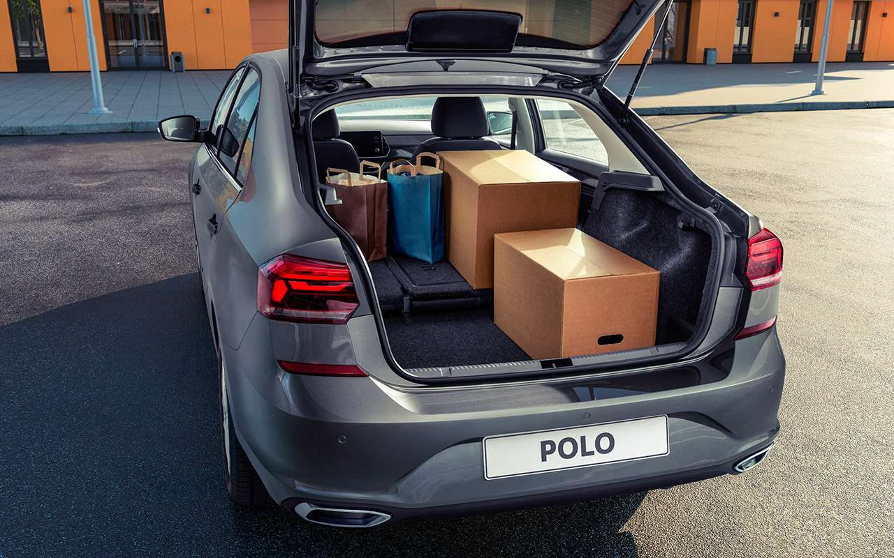 Новый VWPolo лифтбек: все отличия отседана— фото 1143660