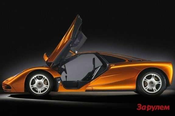 McLaren F1side view