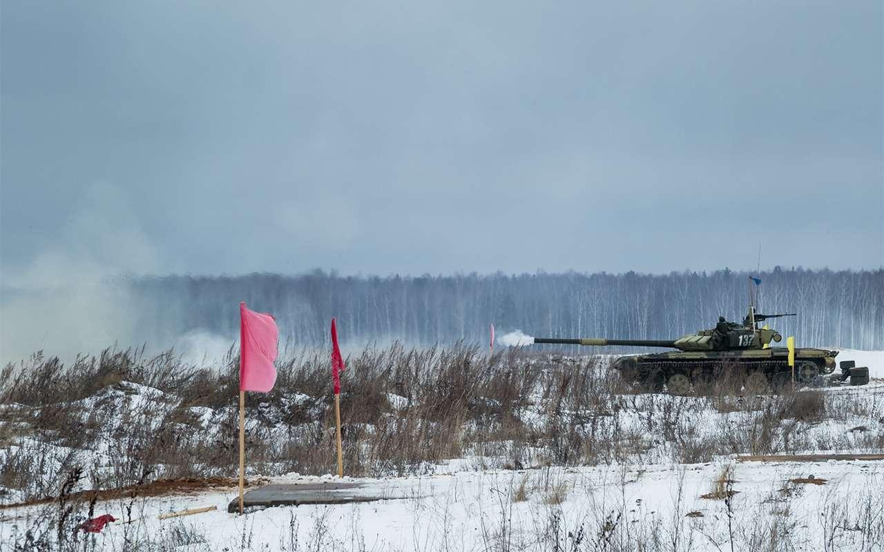 НашТ-72Б3 против немецкого Леопарда-2: пришельцы изпрошлого— фото 864030