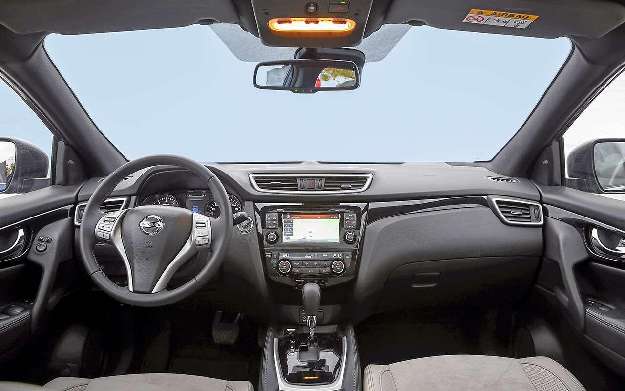 Новый Subaru XVпротив Nissan Qashqai иMitsubishi ASX— большой тест ЗР— фото 825174