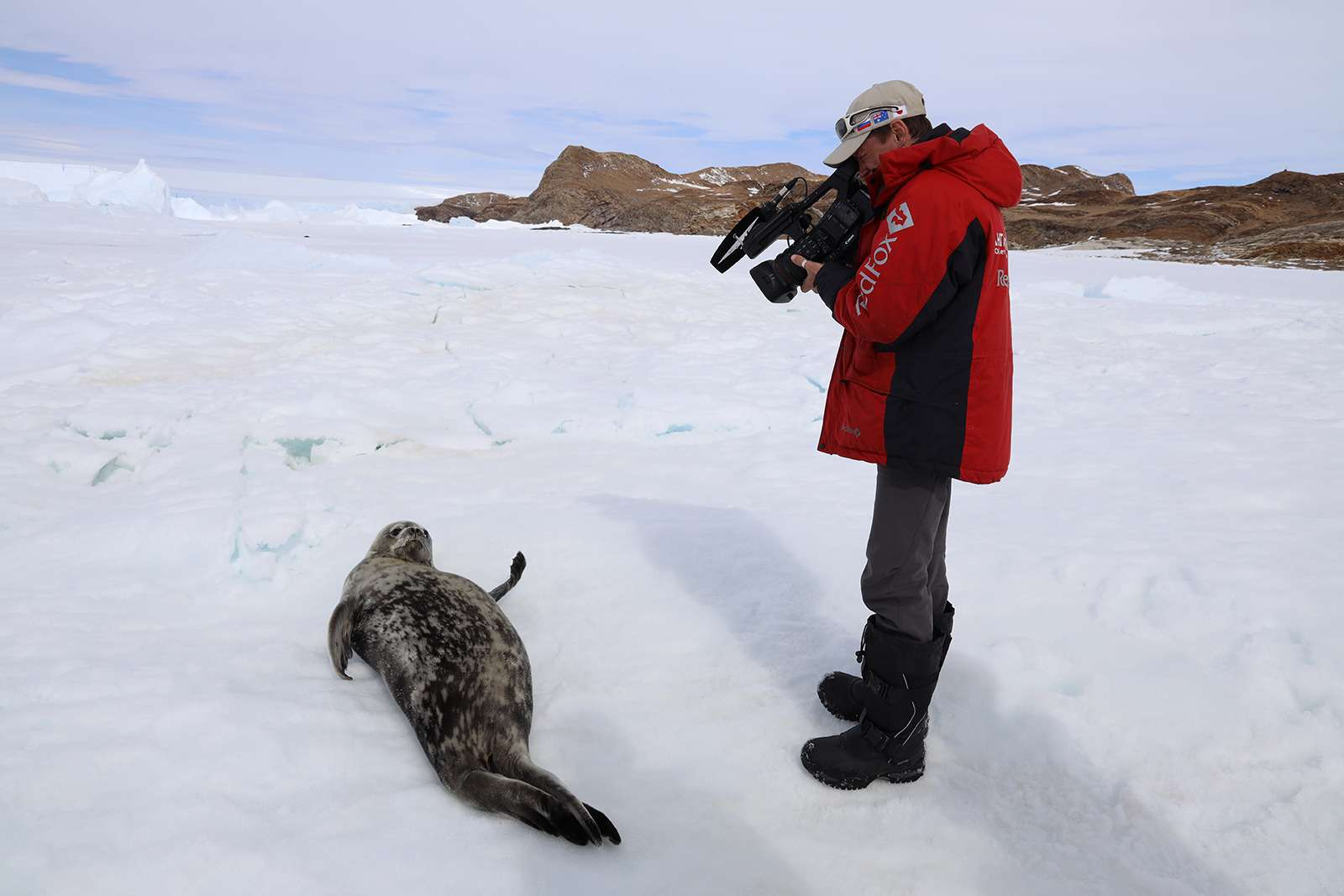 Есть рекорд: самый длинный автопробег через Антарктиду— фото 958594