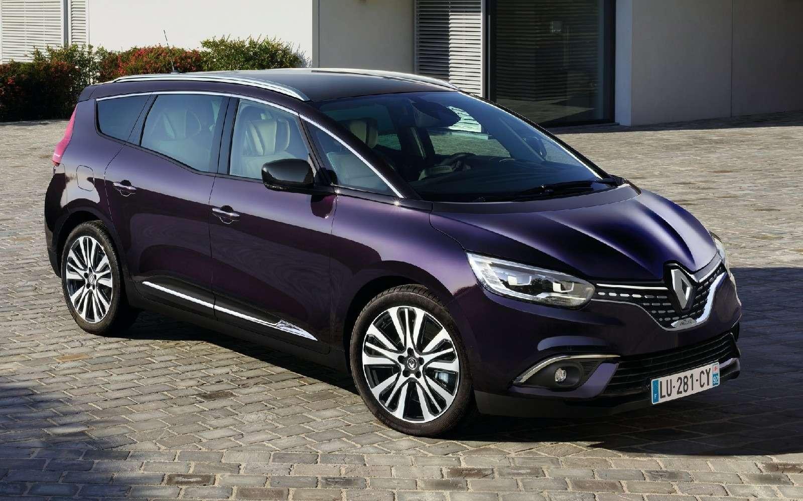 Парижский гламур: новый Renault Scenic стал еще красивее— фото 759179