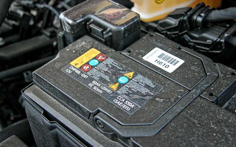 Аккумулятор Hyundai Solaris 2017