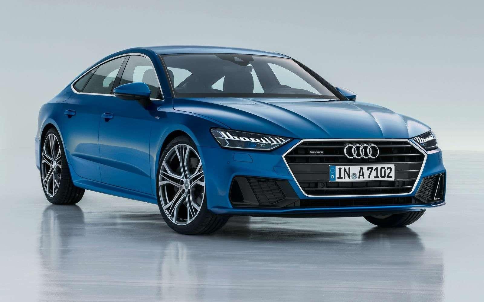 Новый Audi A7Sportback вРоссии: от4320000 рублей— фото 876038
