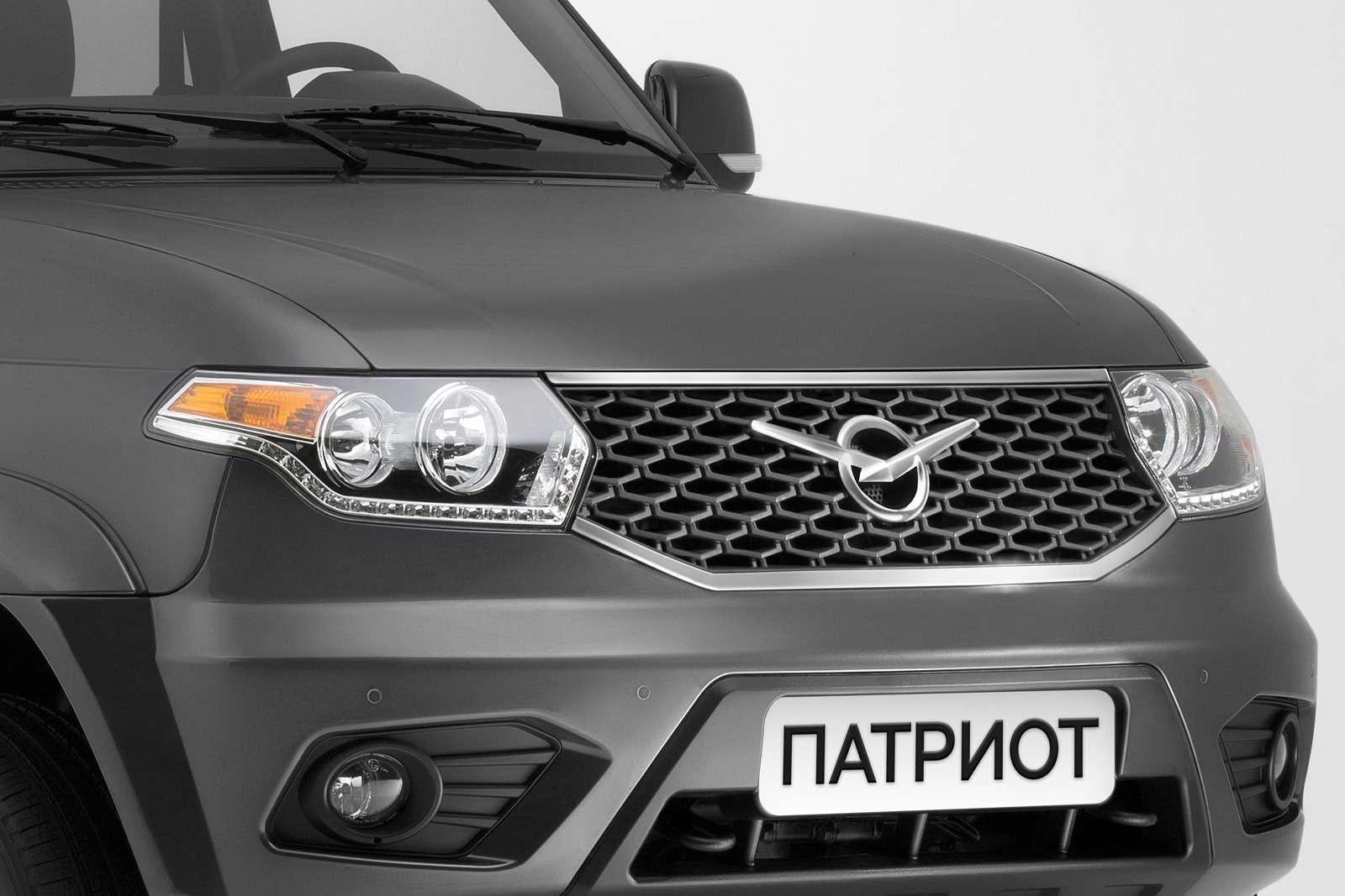 Обновленный УАЗ Патриот нацелился наэкспорт— фото 648338