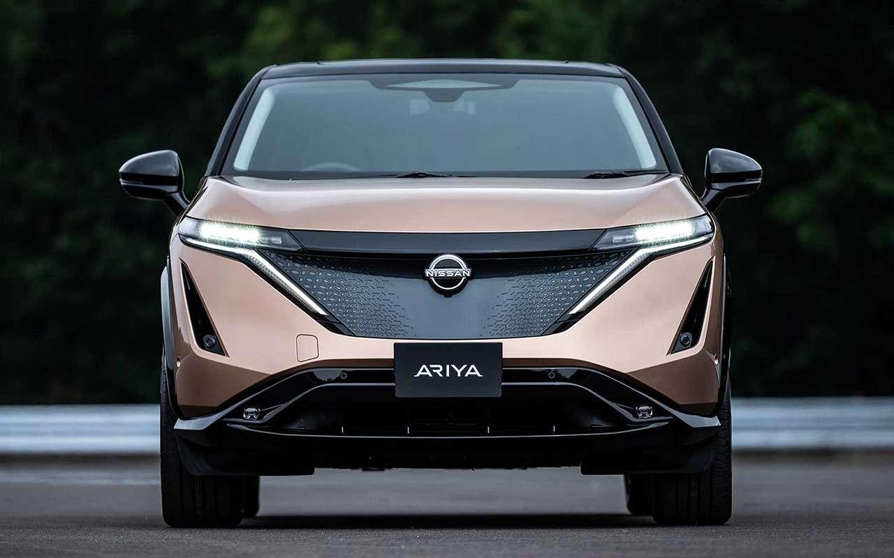 Nissan Ariya— мировая премьера новой надежды бренда— фото 1145163