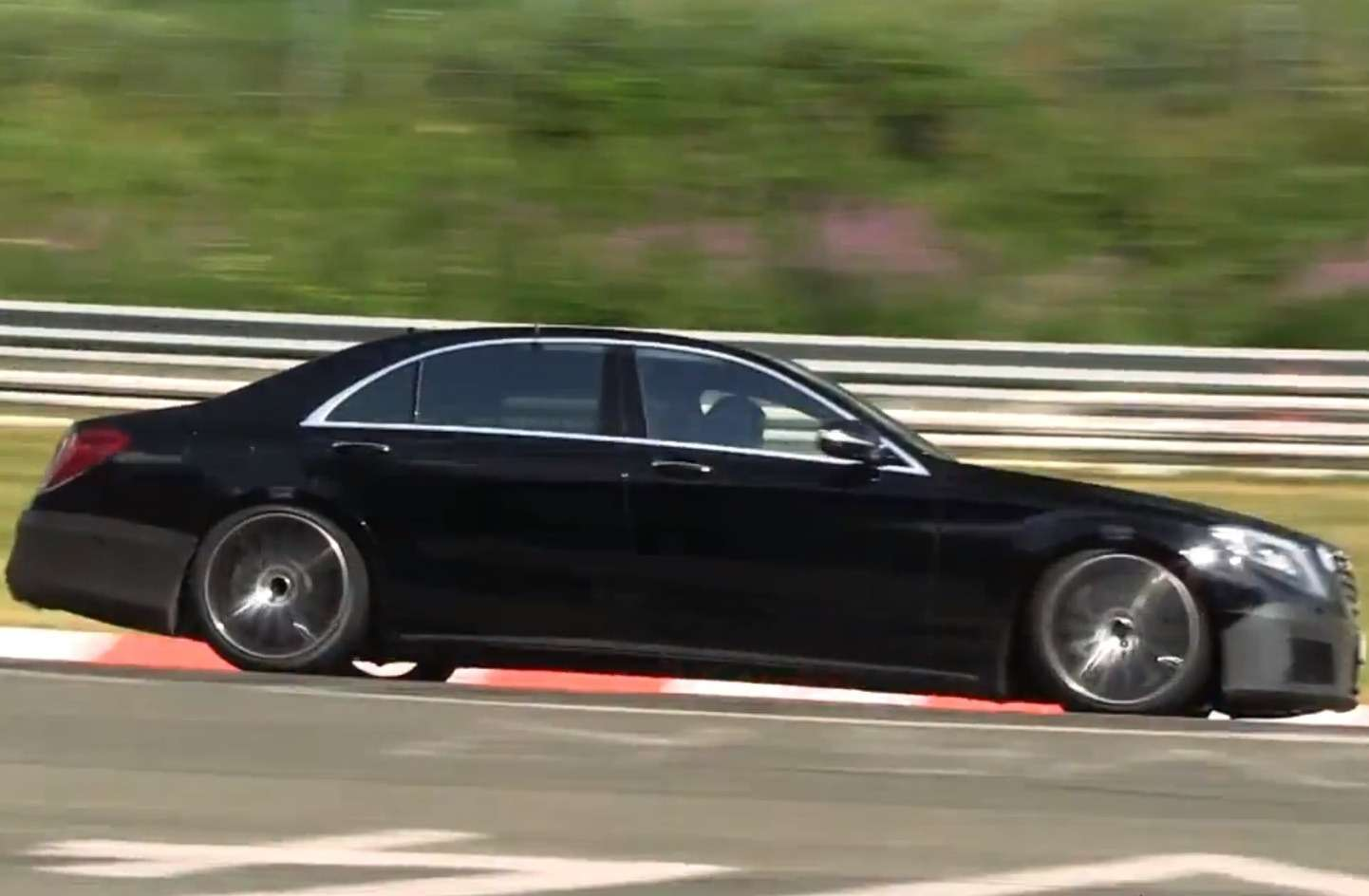 Mercedes Benz S 65 AMG test prototype no copyright