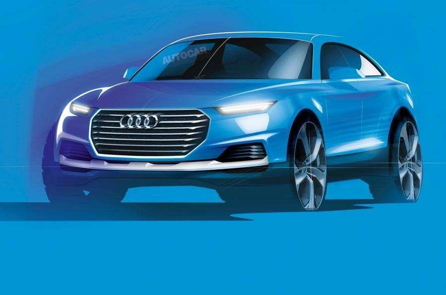Неофициальное изображение будущего Audi Q6