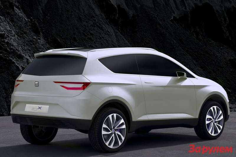 SEAT IBX Concept side-rear view